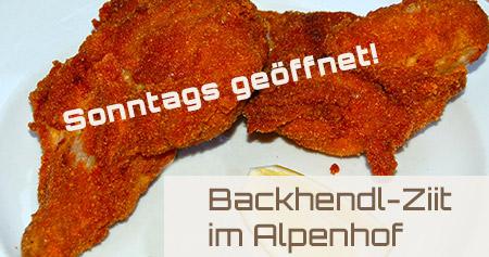 Backhendl-Ziit